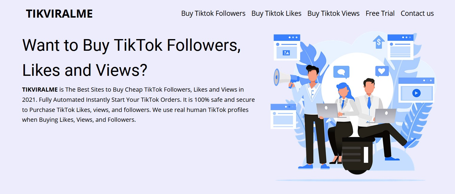 Best Sites To Buy TiKtok Followers, Likes and Views 2021 (Real and Active)