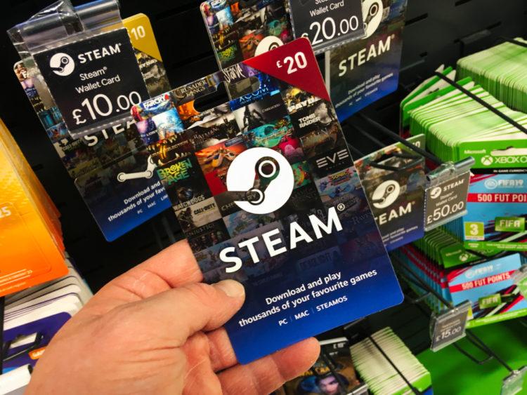 Steam Creation History