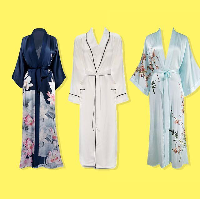 long-silk-robe